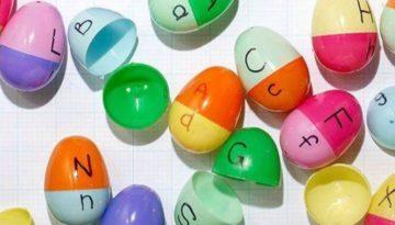 10 atividades pedagógicas com ovos de páscoa