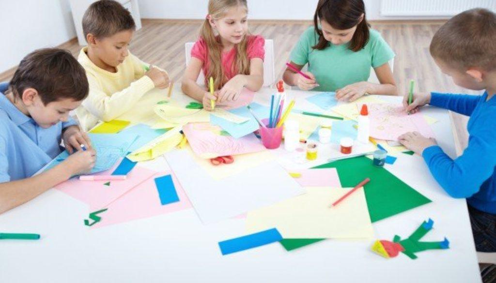 Como estimular criatividade infantil através da arte