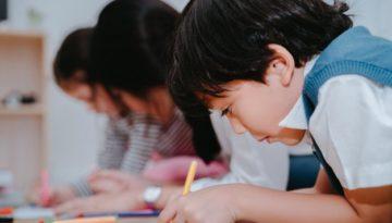 alunos com diferentes níveis de alfabetização