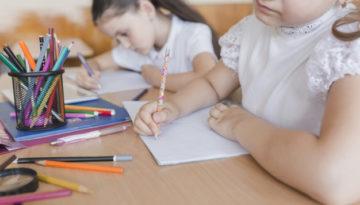 Atividades de leitura e escrita para crianças